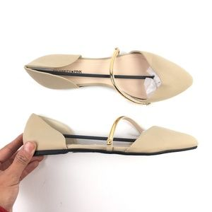 Celebrity Pink Pointed-Toe  Flats DR02577